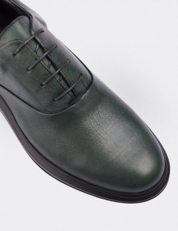 Hakiki Deri Yeşil Comfort Erkek Ayakkabı