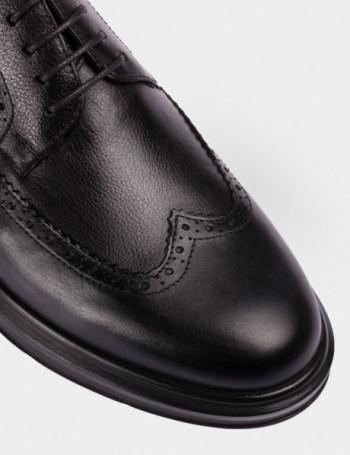 Hakiki Deri Siyah Comfort Erkek Ayakkabı