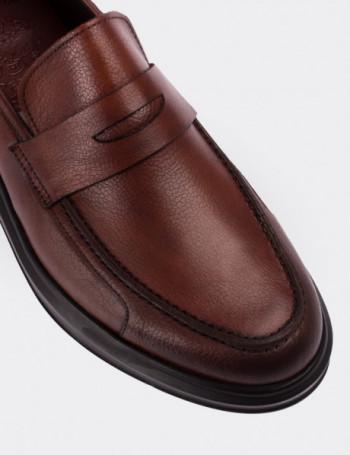 Hakiki Deri Kahverengi Comfort Erkek Loafer
