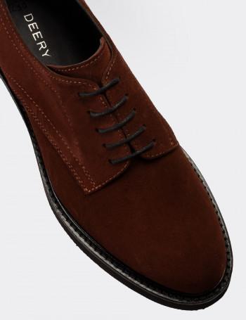 Hakiki Süet Taba Rengi Günlük Kadın Ayakkabı