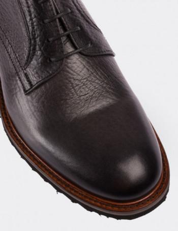 Hakiki Floter Deri Gri Günlük Erkek Ayakkabı