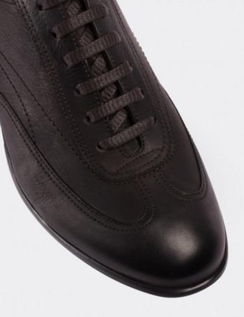 Hakiki Süet Kahverengi Spor Erkek Ayakkabı