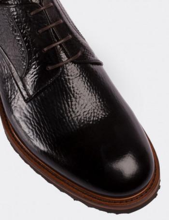 Hakiki Deri Kahverengi Günlük Erkek Ayakkabı