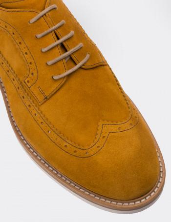 Hakiki Süet Sarı Günlük Erkek Ayakkabı