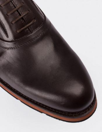 Hakiki Deri Kahverengi Erkek Ayakkabı