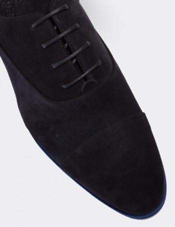 Hakiki Süet Lacivert Günlük Erkek Ayakkabı