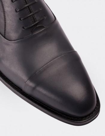 Hakiki Deri Gri Kösele Erkek Ayakkabı