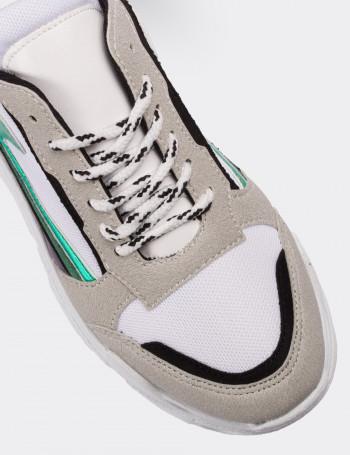 Beyaz Spor Kadın Ayakkabı