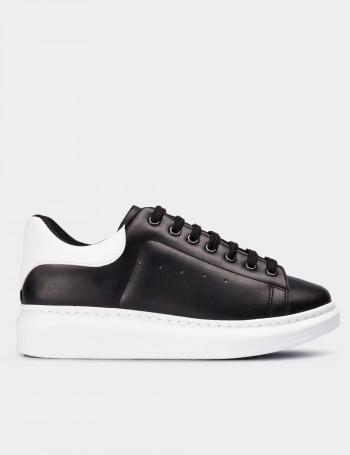 Siyah Sneaker Kadın Ayakkabı