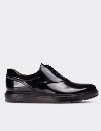 Hakiki Deri Siyah Comfort Günlük Erkek Ayakkabı