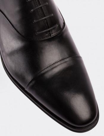 Hakiki Deri Siyah Klasik Erkek Ayakkabı